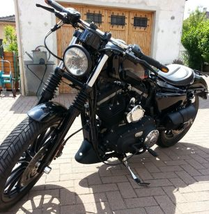 Sacoches Myleatherbikes Harley Sportster Forty Eight (36)